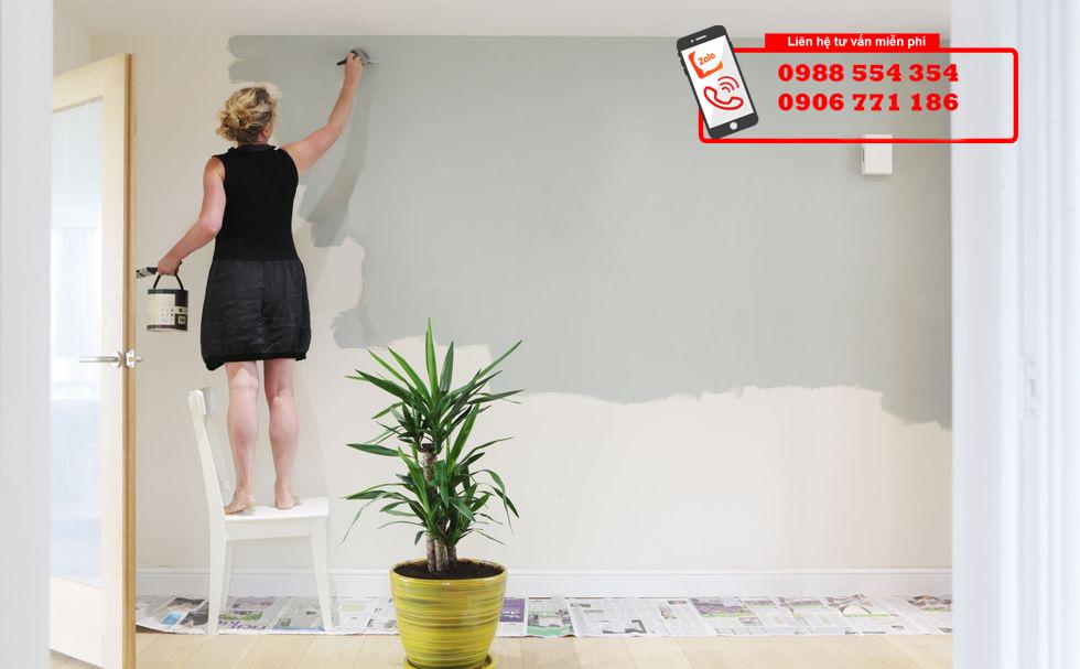 hướng dẫn sơn nhà