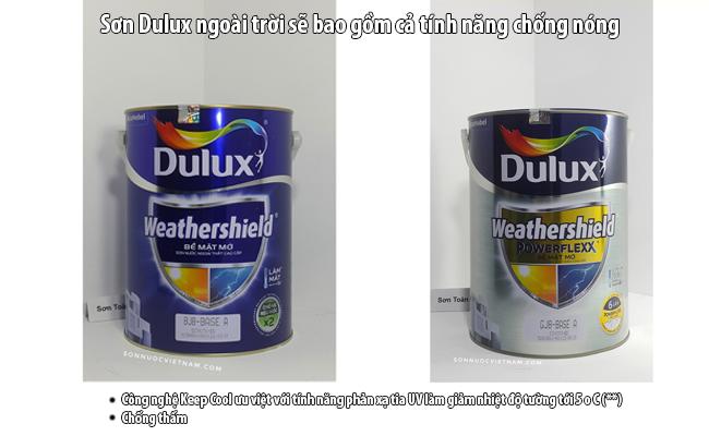 sơn dulux weatheshield